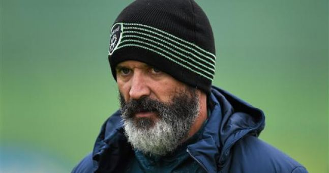 Image result for roy keane training""