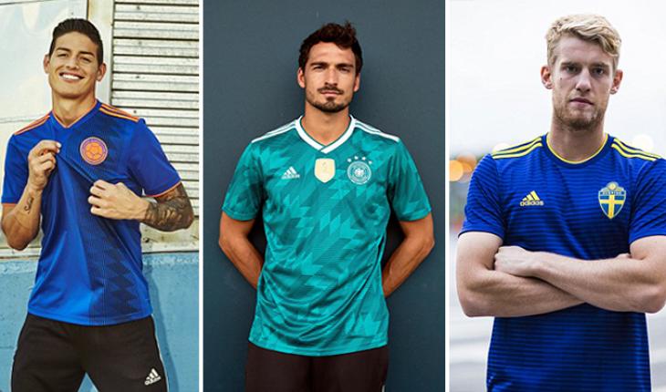 Limo gobierno Estar confundido  The Nine Adidas World Cup Away Jerseys Ranked | Balls.ie
