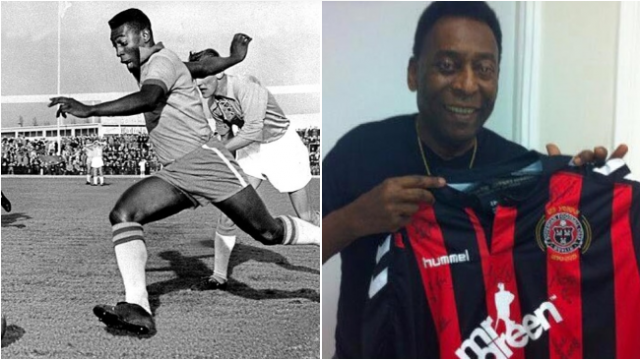Balls Remembers - When Pele Played At Dalymount Park