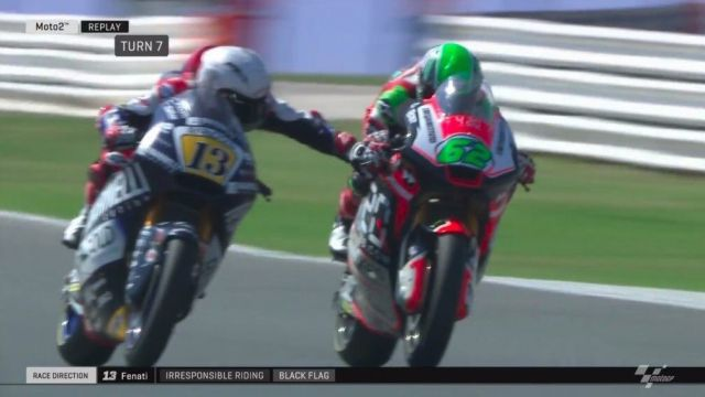 Pure Madness As Motogp Rider Grabs Opponent S Brake During Race Balls Ie