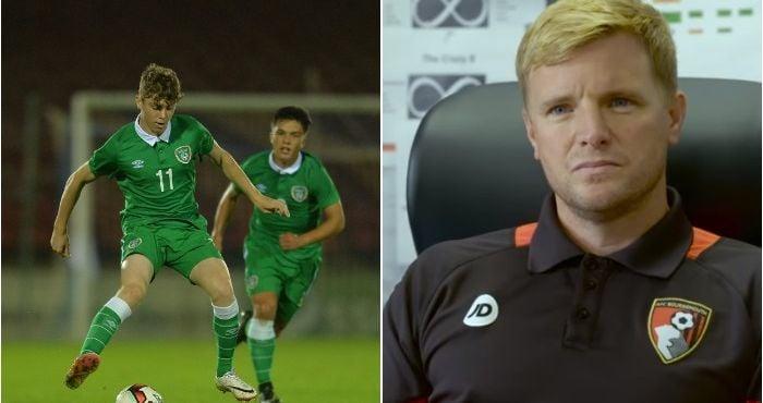Eddie Howe Praises Irish 19 Year Old Midfielder Ahead Of Premier League Season Balls Ie