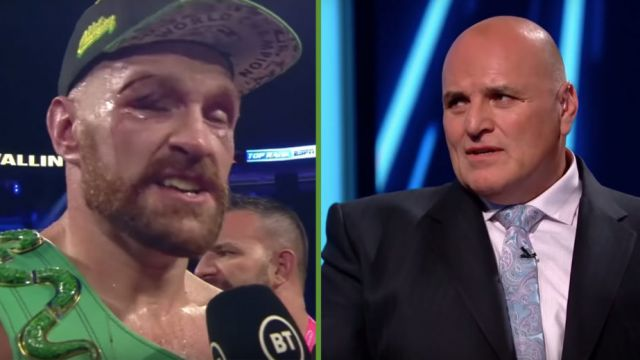 Image result for images of Tyson Fury's Dad, John, Calls For His Son To Retire Following Wilder Win