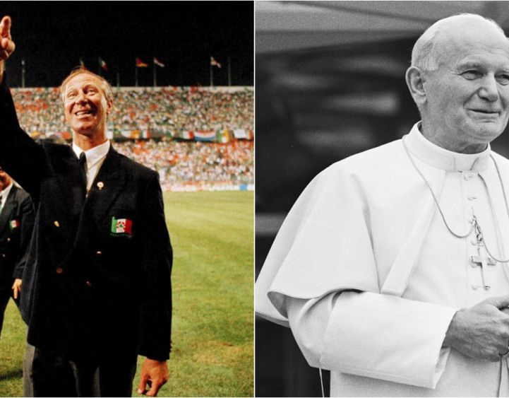 Jack Charlton's Pope Quip After World Cup Exit Has Become The Stuff Of Legends