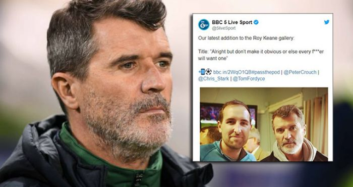 Peter Crouch S Podcast Has A Great Plan For These Roy Keane Fan Photos Balls Ie In a scenario almost impossible to imagine at the inception of this podcast, the boys head to kensington palace to eat samrat samosas with the duke of cambridge. these roy keane fan photos