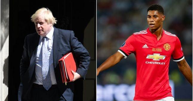 Boris Johnson Will Oppose Marcus Rashford S Plea To Feed Hungry Children Balls Ie