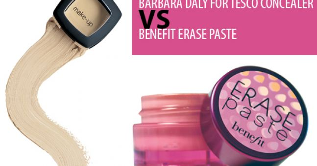 Benefit Erase Paste VS Barbara Daly Concealer | Beaut.ie