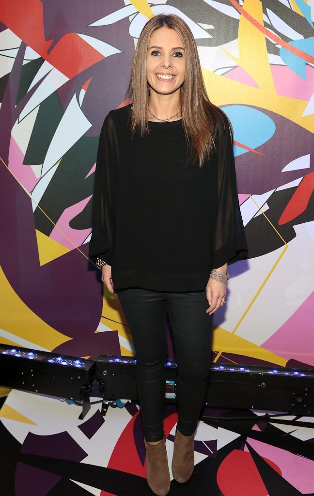 Jenny Greene pictured at the launch of Outcider, Ireland's newest cider with designs by street artist, James Earley (Picture by Brian McEvoy).