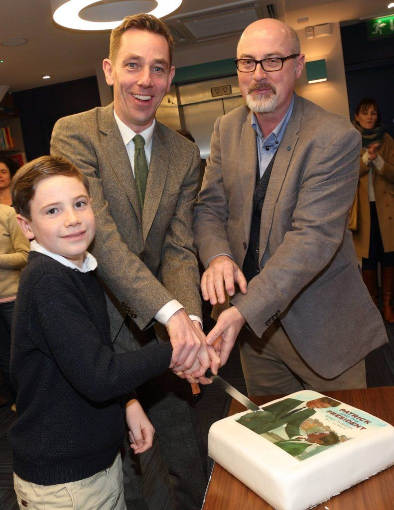 "Ryan Tubridy launches new children's book ""Patrick and the President"""