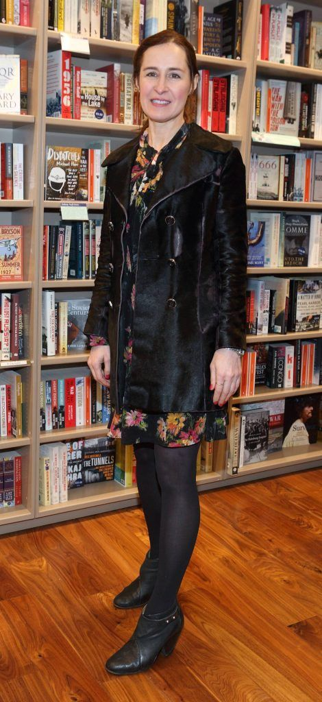 Criona Sexton at the launch of Ryan Tubridy's book 'Patrick and the President' Illustratred by PJ Lynch at Dubray Books in Grafton Street, Dublin (Picture by Brian McEvoy).