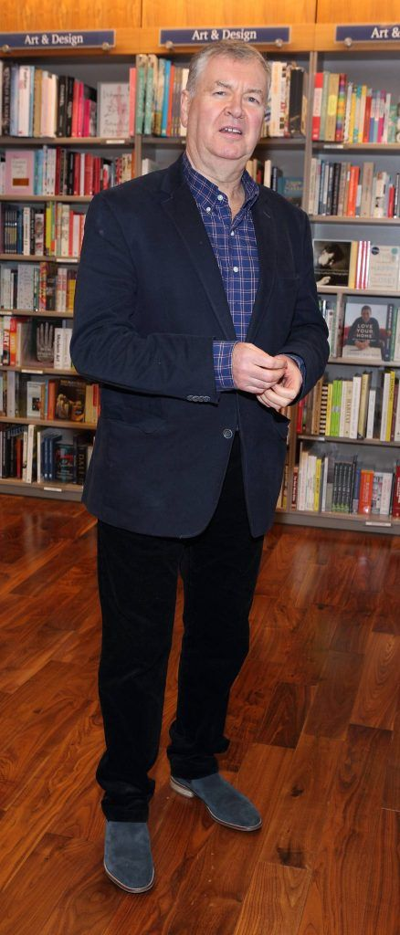 Joe Duffy at the launch of Ryan Tubridy's book 'Patrick and the President' Illustratred by PJ Lynch at Dubray Books in Grafton Street, Dublin (Picture by Brian McEvoy).