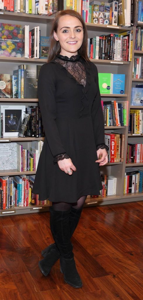 Tara Carey at the launch of Ryan Tubridy's book 'Patrick and the President' Illustratred by PJ Lynch at Dubray Books in Grafton Street, Dublin (Picture by Brian McEvoy).