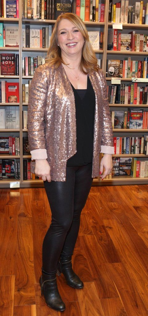 Barbara Hughes at the launch of Ryan Tubridy's book 'Patrick and the President' Illustratred by PJ Lynch at Dubray Books in Grafton Street, Dublin (Picture by Brian McEvoy).