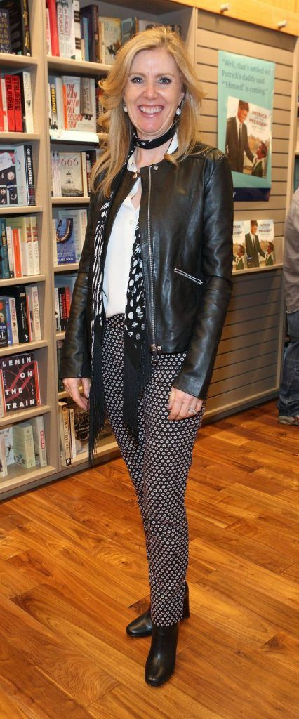 Jackie Colfer at the launch of Ryan Tubridy's book 'Patrick and the President' Illustratred by PJ Lynch at Dubray Books in Grafton Street, Dublin (Picture by Brian McEvoy).
