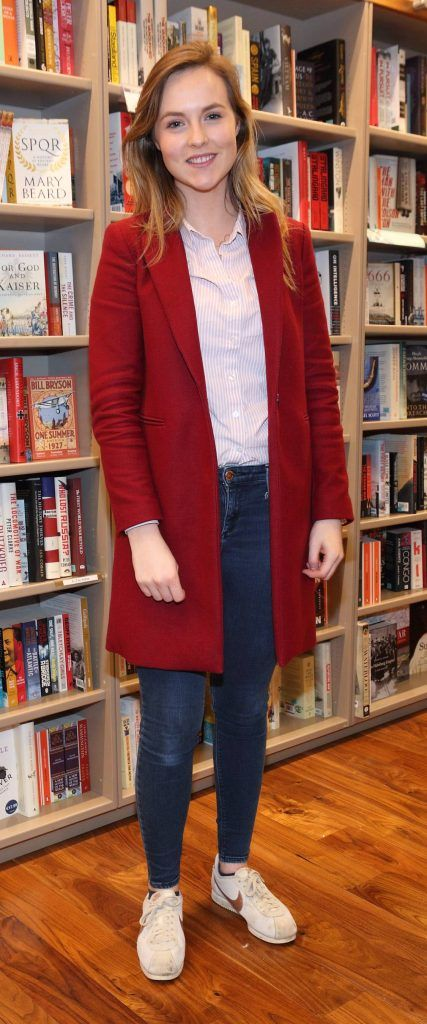 Dearbhaile Sheils at the launch of Ryan Tubridy's book 'Patrick and the President' Illustratred by PJ Lynch at Dubray Books in Grafton Street, Dublin (Picture by Brian McEvoy).