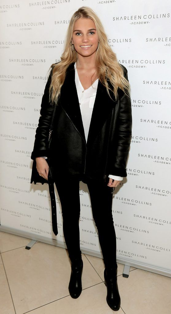 Kate Valk pictured at the launch of Sharleen Collins Make-Up Academy in Leeson Street, Dublin (Picture: Brian McEvoy).