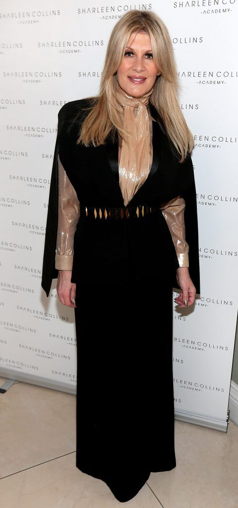 Valerie Roe pictured at the launch of Sharleen Collins Make-Up Academy in Leeson Street, Dublin (Picture: Brian McEvoy).