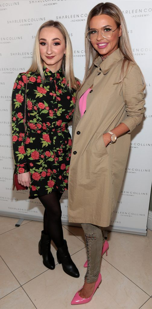 Anastasia Lamonosova Lena Morkuniene pictured at the launch of Sharleen Collins Make-Up Academy in Leeson Street, Dublin (Picture: Brian McEvoy).