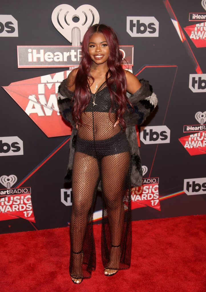 Singer Dreezy attends the 2017 iHeartRadio Music Awards which broadcast live on Turner's TBS, TNT, and truTV at The Forum on March 5, 2017 in Inglewood, California.  (Photo by Jesse Grant/Getty Images for iHeartMedia)