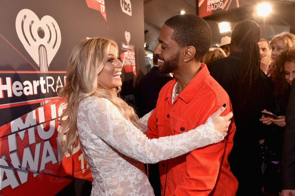 Radio personality Tanya Rad (L) and rapper Big Sean attend the 2017 iHeartRadio Music Awards which broadcast live on Turner's TBS, TNT, and truTV at The Forum on March 5, 2017 in Inglewood, California.  (Photo by Frazer Harrison/Getty Images for iHeartMedia)
