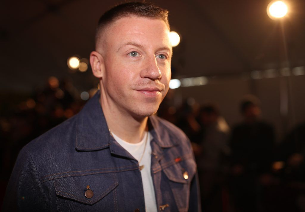 Singer-songwriter Macklemore attends the 2017 iHeartRadio Music Awards which broadcast live on Turner's TBS, TNT, and truTV at The Forum on March 5, 2017 in Inglewood, California.  (Photo by Christopher Polk/Getty Images for iHeartMedia)