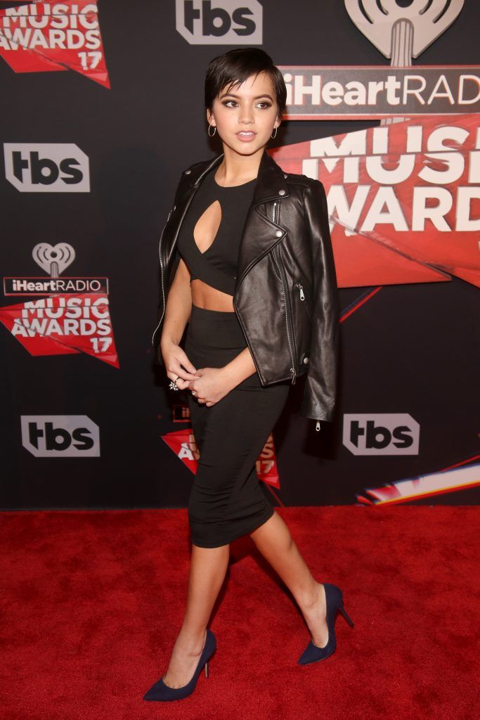 Actor-singer Isabela Moner attends the 2017 iHeartRadio Music Awards which broadcast live on Turner's TBS, TNT, and truTV at The Forum on March 5, 2017 in Inglewood, California.  (Photo by Jesse Grant/Getty Images for iHeartMedia)