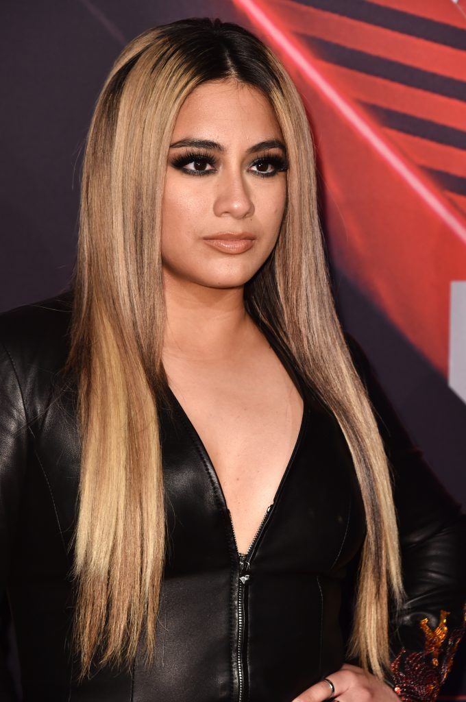 Singer Ally Brooke of the group Fifth Harmony attends the 2017 iHeartRadio Music Awards which broadcast live on Turner's TBS, TNT, and truTV at The Forum on March 5, 2017 in Inglewood, California.  (Photo by Alberto E. Rodriguez/Getty Images)