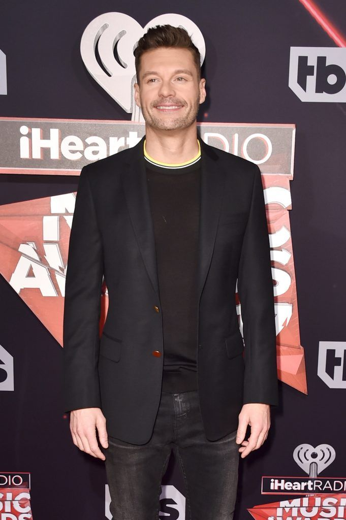 Host Ryan Seacrest attends the 2017 iHeartRadio Music Awards which broadcast live on Turner's TBS, TNT, and truTV at The Forum on March 5, 2017 in Inglewood, California.  (Photo by Alberto E. Rodriguez/Getty Images)