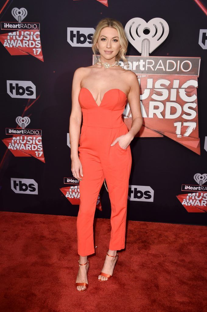 TV personality Stassi Schroeder attends the 2017 iHeartRadio Music Awards which broadcast live on Turner's TBS, TNT, and truTV at The Forum on March 5, 2017 in Inglewood, California.  (Photo by Alberto E. Rodriguez/Getty Images)