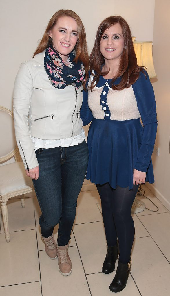 Pearl Mackey and Karen Croke at the Divine Boutique, Maynooth Spring Summer 2017 fashion show (Picture: Brian McEvoy).