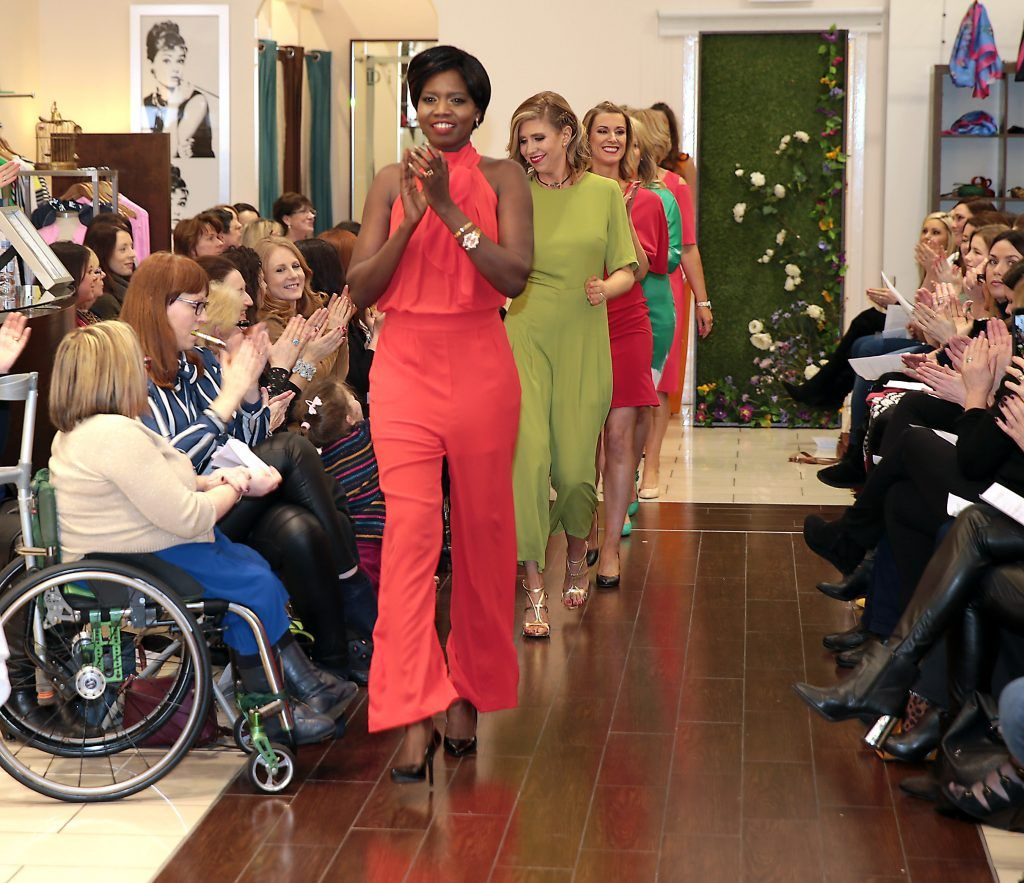 Models at the Divine Boutique, Maynooth Spring Summer 2017 fashion show (Picture: Brian McEvoy).