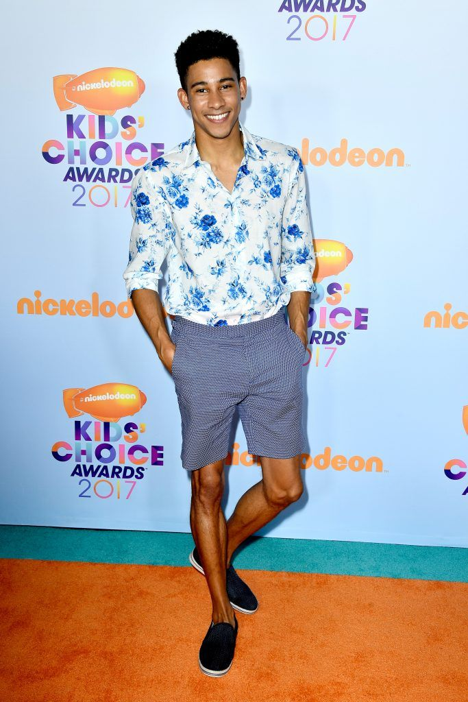Actor Keiynan Lonsdale at Nickelodeon's 2017 Kids' Choice Awards at USC Galen Center on March 11, 2017 in Los Angeles, California.  (Photo by Frazer Harrison/Getty Images)