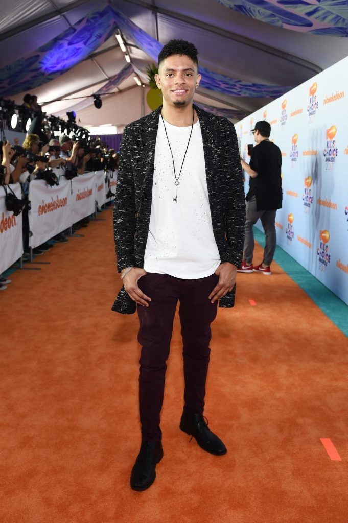 Actor Brandon Broady at Nickelodeon's 2017 Kids' Choice Awards at USC Galen Center on March 11, 2017 in Los Angeles, California.  (Photo by Emma McIntyre/Getty Images)