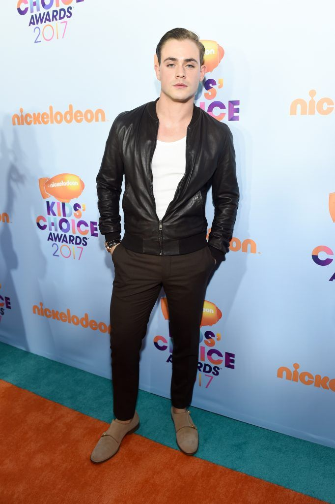 Actor Dacre Montgomery at Nickelodeon's 2017 Kids' Choice Awards at USC Galen Center on March 11, 2017 in Los Angeles, California.  (Photo by Emma McIntyre/Getty Images)