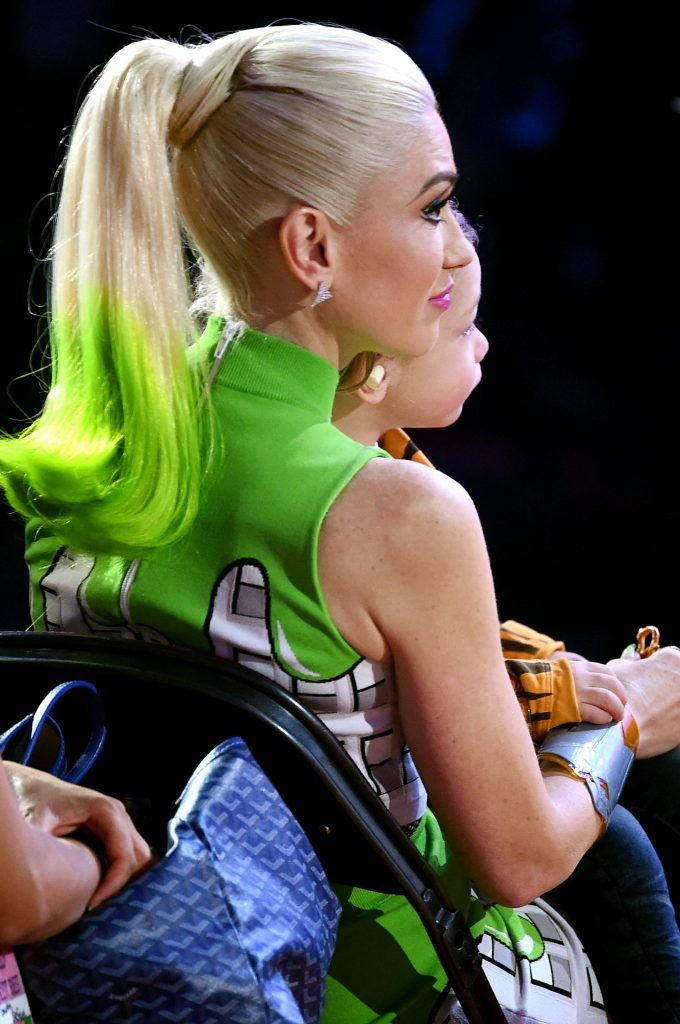 Singer Gwen Stefani onstage at Nickelodeon's 2017 Kids' Choice Awards at USC Galen Center on March 11, 2017 in Los Angeles, California.  (Photo by Kevin Winter/Getty Images)