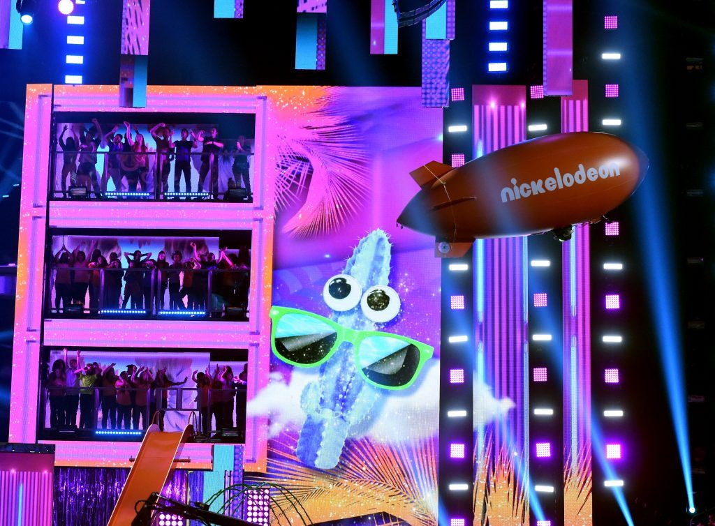 Stage atmosphere at Nickelodeon's 2017 Kids' Choice Awards at USC Galen Center on March 11, 2017 in Los Angeles, California.  (Photo by Kevin Winter/Getty Images)