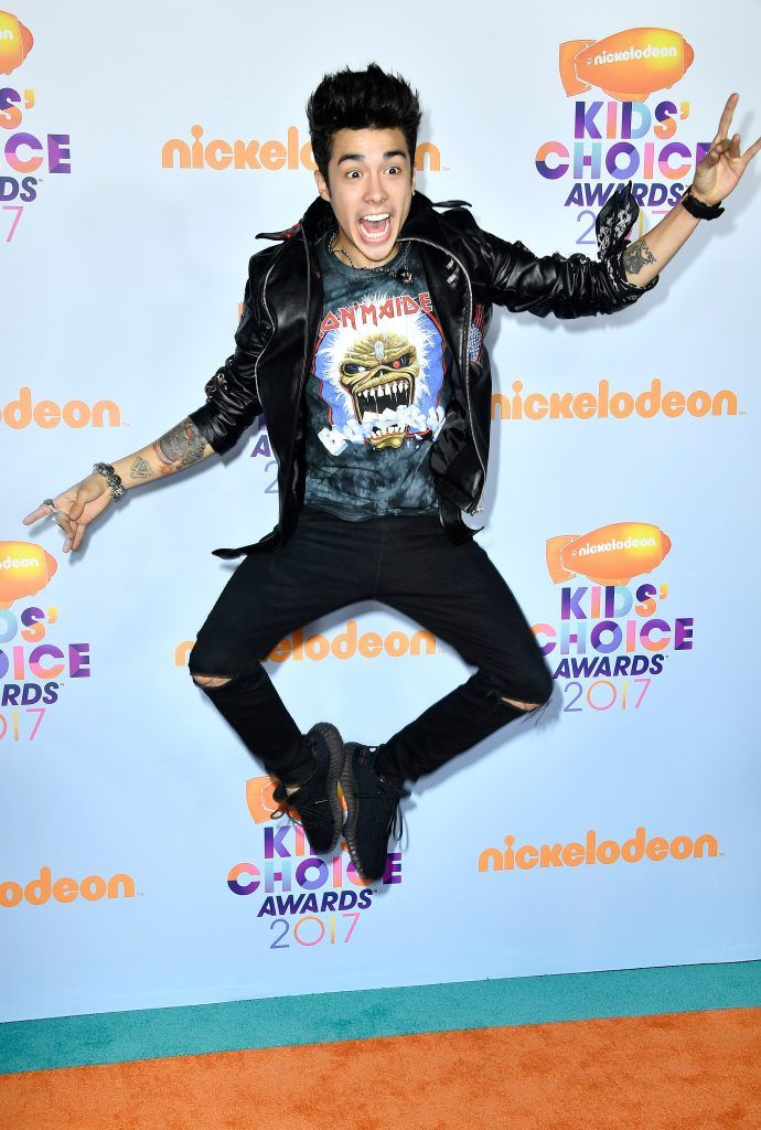 Recording artist Mario Bautista at Nickelodeon's 2017 Kids' Choice Awards at USC Galen Center on March 11, 2017 in Los Angeles, California.  (Photo by Frazer Harrison/Getty Images)