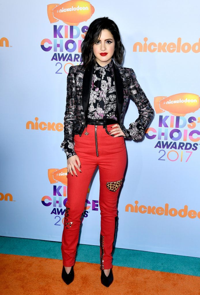 Actor Laura Marano at Nickelodeon's 2017 Kids' Choice Awards at USC Galen Center on March 11, 2017 in Los Angeles, California.  (Photo by Frazer Harrison/Getty Images)