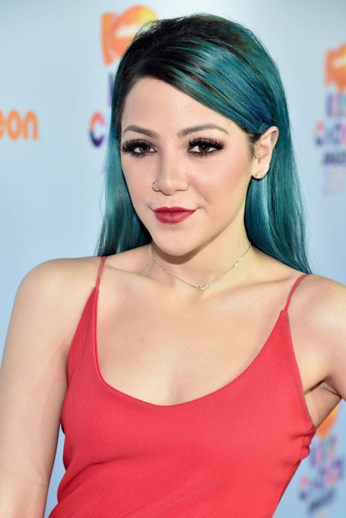 Internet personality Niki DeMartino at Nickelodeon's 2017 Kids' Choice Awards at USC Galen Center on March 11, 2017 in Los Angeles, California.  (Photo by Alberto E. Rodriguez/Getty Images)