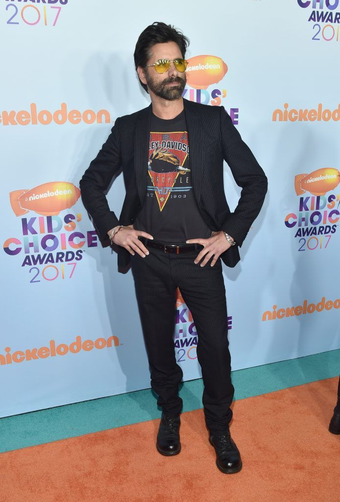 Actor John Stamos at Nickelodeon's 2017 Kids' Choice Awards at USC Galen Center on March 11, 2017 in Los Angeles, California.  (Photo by Alberto E. Rodriguez/Getty Images)