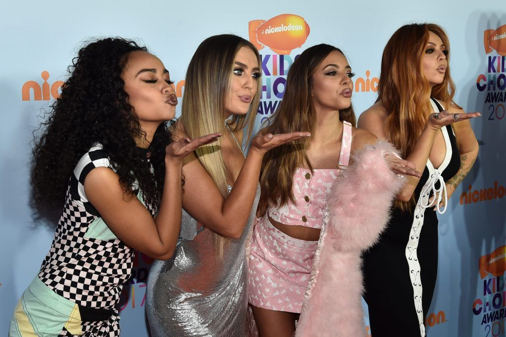 Singing group Little Mix at Nickelodeon's 2017 Kids' Choice Awards at USC Galen Center on March 11, 2017 in Los Angeles, California.  (Photo by Alberto E. Rodriguez/Getty Images)