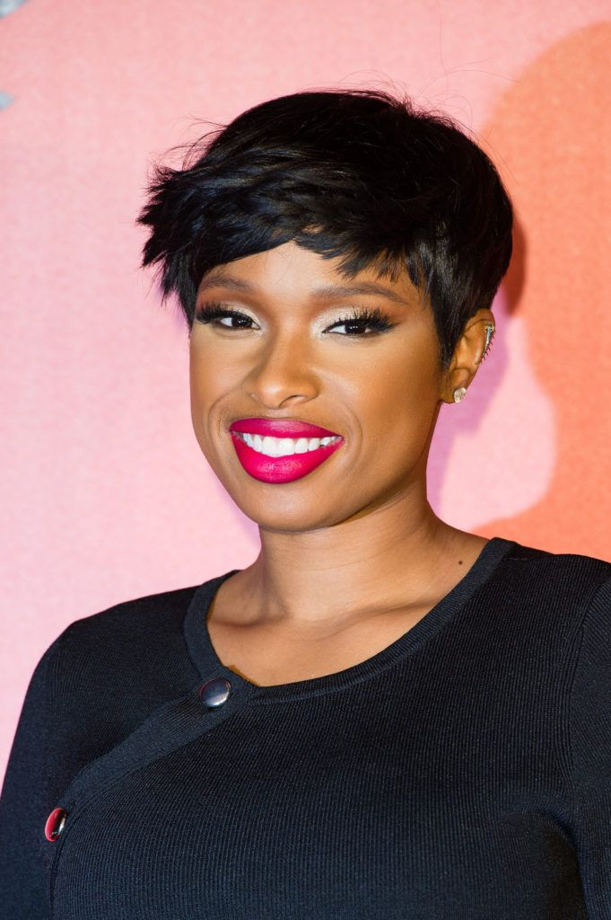 Jennifer Hudson arrives for the press launch of  The Voice UK at Millbank Tower on January 4, 2017 in London, England.  (Photo by Jeff Spicer/Getty Images)