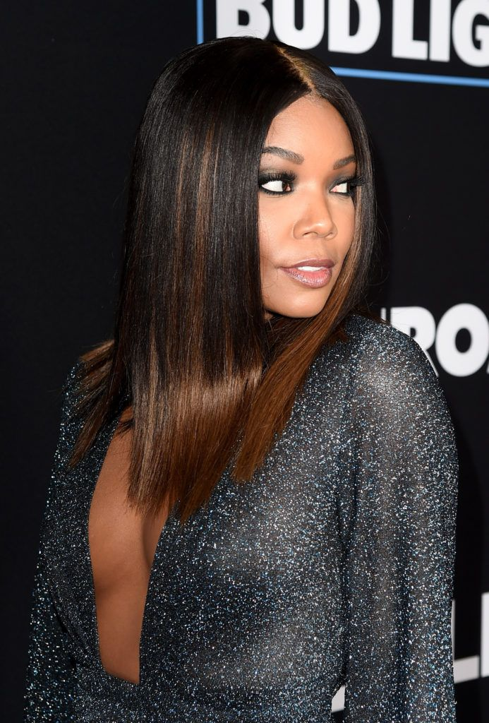 """Gabrielle Union arrives at the premiere of Open Road Films' """"Sleepless"""" at the Regal LA Live Stadium 14 Theatre on January 5, 2017 in Los Angeles, California.  (Photo by Kevin Winter/Getty Images)"""