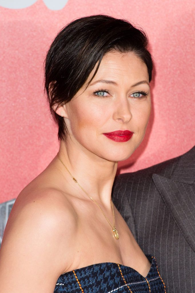 Emma Willis arrives for the press launch of  The Voice UK at Millbank Tower on January 4, 2017 in London, England.  (Photo by Jeff Spicer/Getty Images)