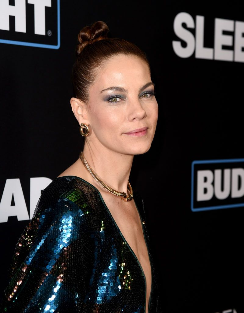 "Michelle Monaghan arrives at the premiere of Open Road Films' ""Sleepless"" at the Regal LA Live Stadium 14 Theatre on January 5, 2017 in Los Angeles, California.  (Photo by Kevin Winter/Getty Images)"