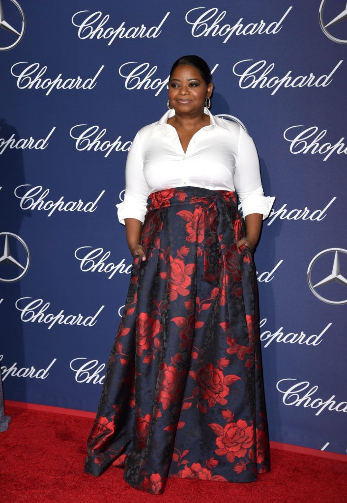 Octavia Spencer attends the 28th Annual Palm Springs International Film Festival Film Awards Gala at the Palm Springs Convention Center on January 2, 2017 in Palm Springs, California.  (Photo by Emma McIntyre/Getty Images)