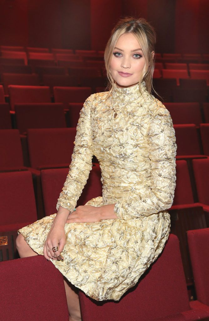 Laura Whitmore at the Bord Gais Energy Theatre,Dublin when she announced details of the forthcoming stage production of Not Dead Enough (Picture: Brian McEvoy)