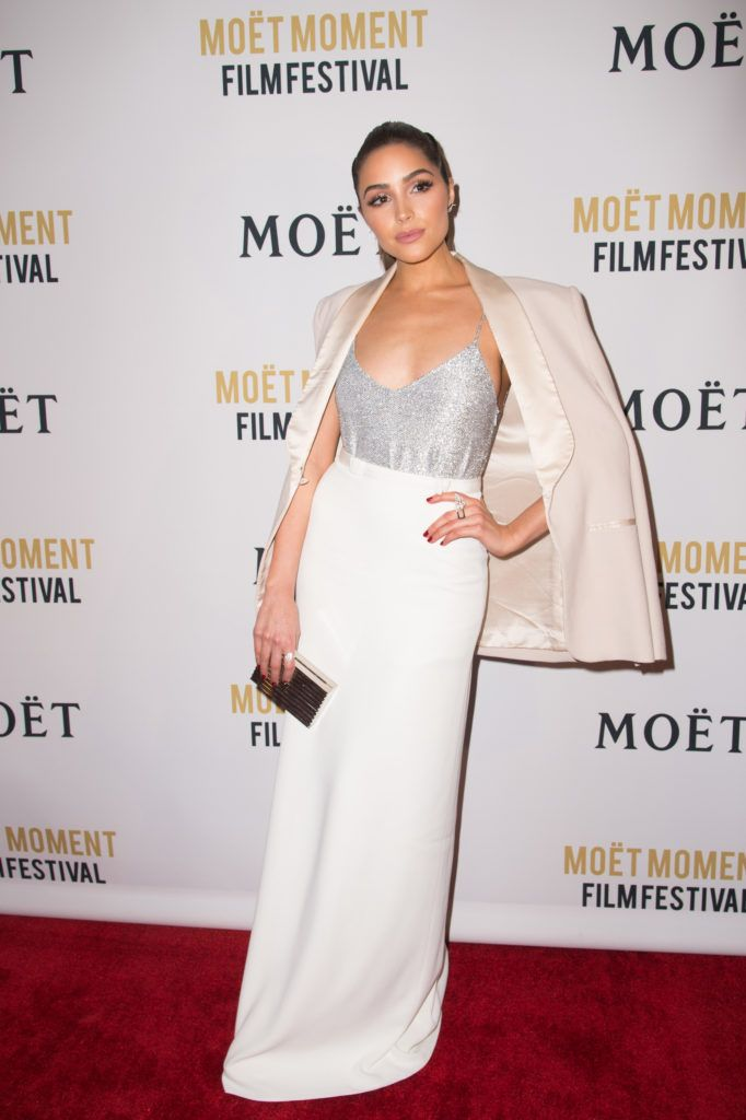 Olivia Culpo attends the 2nd Annual Moet Moment Film Festival and Kick Off of Golden Globes Week at Doheny Room on January 4, 2017 in West Hollywood, California.  (Photo by Emma McIntyre/Getty Images)