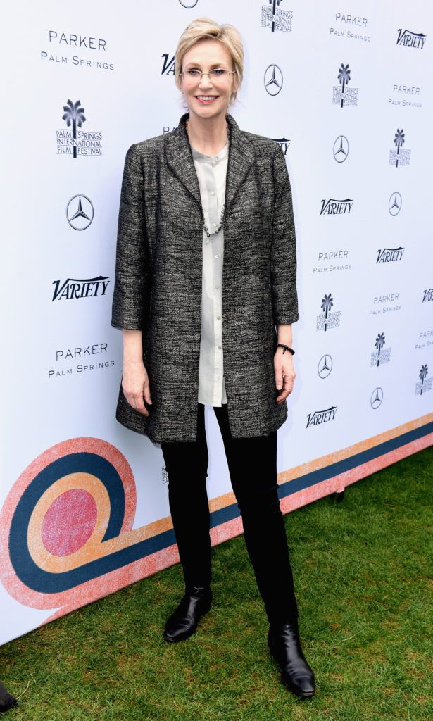 Jane Lynch attends Variety's Creative Impact Awards and 10 Directors to Watch Brunch presented by Mercedes-Benz at the 28th Annual Palm Springs International Film Festival at the Parker Palm Springs on January 3, 2017 in Palm Springs, California.  (Photo by Vivien Killilea/Getty Images for Palm Springs International Film Festival )