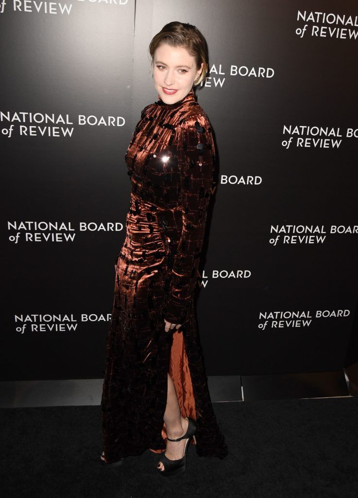 Greta Gerwig attends the 2016 National Board of Review Gala at Cipriani 42nd Street on January 4, 2017 in New York City. (Photo ANGELA WEISS/AFP/Getty Images)