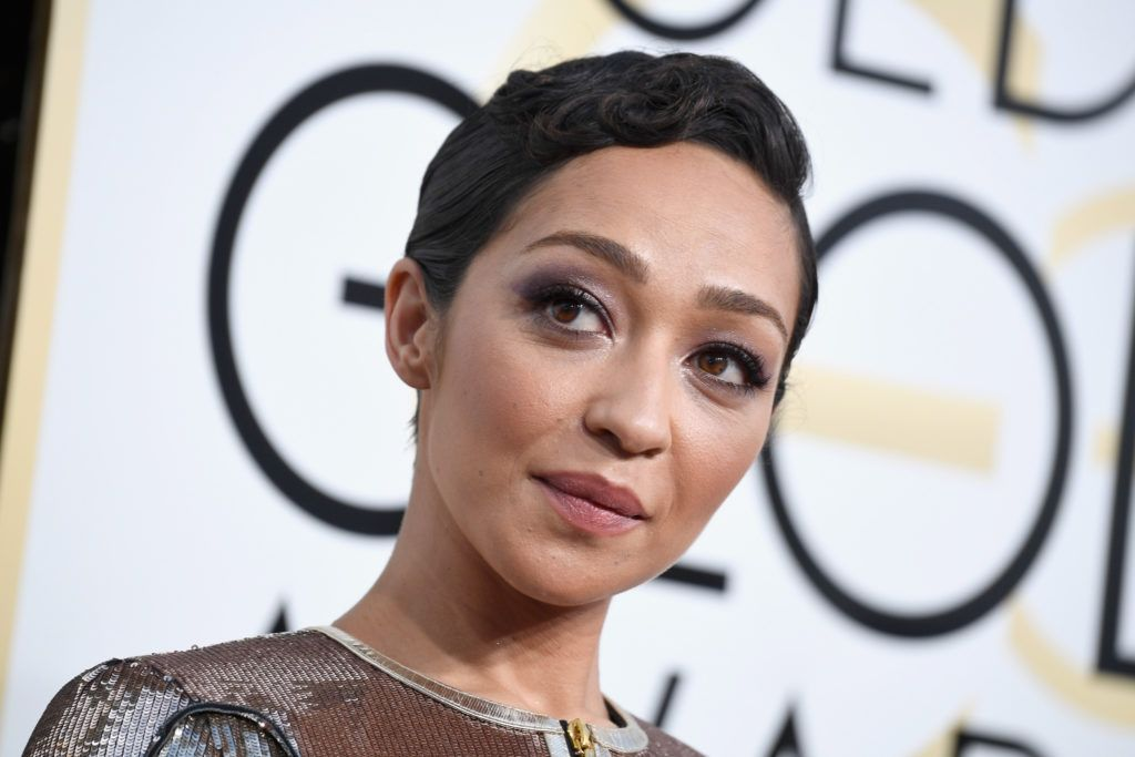 BEVERLY HILLS, CA - JANUARY 08: Actress Ruth Negga attends the 74th Annual Golden Globe Awards at The Beverly Hilton Hotel on January 8, 2017 in Beverly Hills, California.  (Photo by Frazer Harrison/Getty Images)